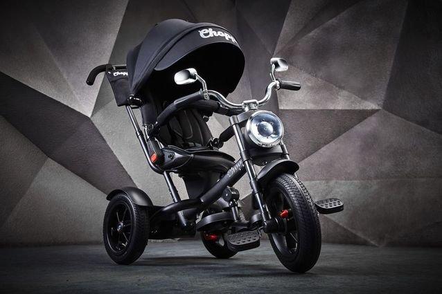 Велосипед CHOPPER TRIKE (фара со светом и звуком, вращение на 180 градусов, колеса резина)